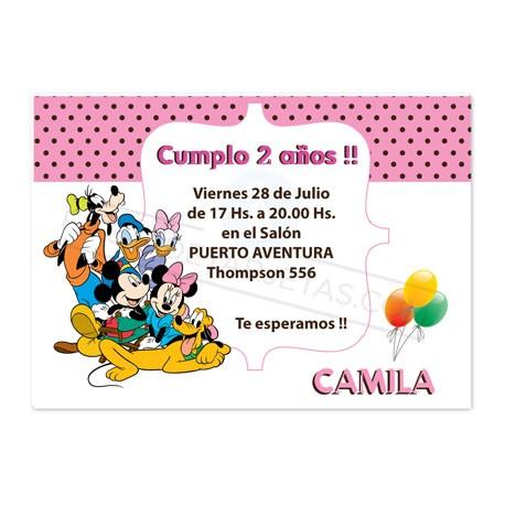 Tarjeta cumplea os infantil inf003 - Modelos de tarjetas de cumpleanos para adultos ...