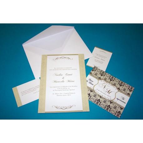 Tarjeta de Casamiento CAS012