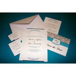 Tarjeta de Casamiento CAS013