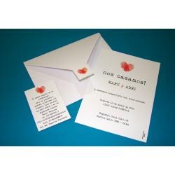 Tarjeta de Casamiento CAS019