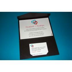 Tarjeta de casamiento CAS021