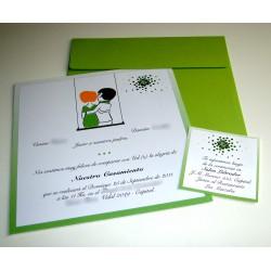 Tarjeta de Casamiento CAS001